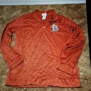 ST. LOUIS CARDINALS  PULLOVER  14/16